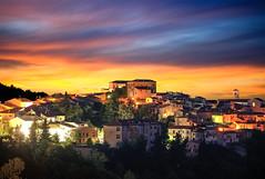 The country of Tarantella. (Luigi Zollo) Tags: sunset tarantella italy paesaggi night shot tramonti irpinia campania colori
