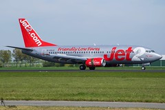 Jet2 / G-CELE / Boeing 737-300 / EHAM-AMS 18R / © (RVA Aviation Photography (Robin Van Acker)) Tags: schiphol amsterdam airport planes trafic airlines avgeek airliner outdoor airplane aircraft vehicle jetliner jet jumbo air photography aviation avitionphotography