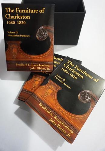Charleston Furniture Reference Books, 3 Volumes ($143.00)
