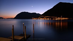 Piccolo approdo (_Nick Photography_) Tags: beauty longexposure romanticview canoneos6d lagodiiseo monteisola montisola notturno twilight