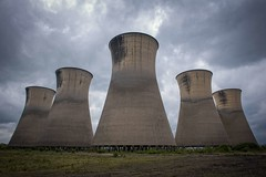 Cooling Towers... (Taken-By-Me) Tags: takenbyme tower cooling power station plant sky clouds five abandoned adventure buildings closed centre derelict decay demolished d750 explore exploring empty forgotten factory field gone industrial left nikon neglect north news nuclear ruin shut urbex urban ue uk vacant