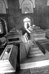 Sarcophagi (peterkelly) Tags: digital canon 6d india asia delhi humayunstomb isakhan isakhannyazi sarcophagus sarcophagi death tomb bw dead interred stone building essentialindia gadventures
