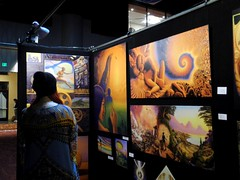 MARK HENSON (citymaus) Tags: psychedelic science conference multidisciplinary association studies celebration gallery art visionary entheogen entheogens painting paintings artists artist oakland marriott 2017 mark henson divine sexuality eroticism nature