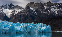 Shade of Grey (inkasinclair) Tags: ngc glacier grey lago lake torres del paine patagonia south america chile glaciers ice snow mountains water reflection jagged carved erosion landscape nature beauty natural wonder catamaran boat berg nikon d7200 national park untouched wild wilderness