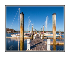 Floating Dock (Me in ME) Tags: georgetown maine robinhoodmarinecenter marina riggscove explore