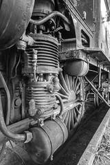 machinery (Mange J) Tags: 1913 fryken magnusjakobsson pentax sigma1020 sverige sweden värmland blackandwhite engine heavy locomotive machine machinery metal old pentaxart pipes shaft steel tons tubes wheel kil värmlandslän se