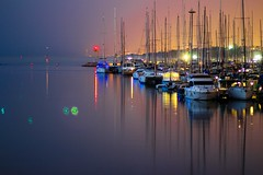 Marina-Hertzelia at night (Lior. L) Tags: marinahertzeliaatnight marinahertzelia night marina hertzelia sea seascapes reflection longexposure sailboats flare lights israel
