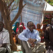 Omar Abdi, Deputy Executive Director of UNICEF visits people displaced by drought in Somali region of Ethiopia