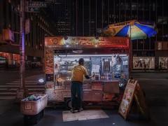 Rockefeller halal food (karinavera) Tags: travel sonya7r2 halalfood newyork street market manhattan night lifestyle urban work
