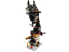 Mini Steampunk Building (guilherme.begotti) Tags: steampunk mini building lego
