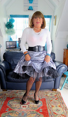 Frills (Trixy Deans) Tags: crossdresser cd cute crossdressing crossdress classic classy corset frilly feminine frills tgirl tv transvestite transgendered tranny transsexual tgirls trixy xdresser sexy sexytransvestite sexyheels sexylegs sexyblonde shortskirt shortskirts