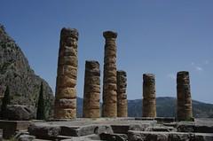 Temple of Apollo (Mudlark2011) Tags: delphi greece ancientruins oracle trafalgartours