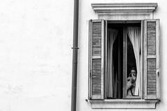 The last touch (Roberto Spagnoli) Tags: trucco makeup window woman lady fotografiadistrada streetphotography biancoenero blackandwhite monocromo people 50mmcanon house casa interior explore femininity femminilità finestra