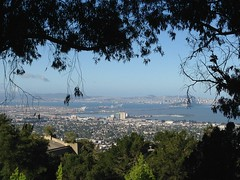 Another Super-Clear Day (melystu) Tags: bayarea view heights berkeley sanfrancisco bridge bay clearday berkeleyside