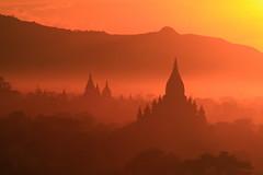 bagan sunset (hmong135) Tags: bagan burma myanmar ancient temples