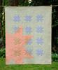 New Star Rising - baby version (Huntspatch Quilts) Tags: n1705159080 quilt newstarrisingquilt transparency agf denim artgalleryfabrics fmq