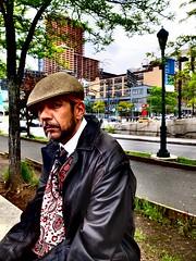 Cool dude (richardwhitaker2) Tags: new york strret