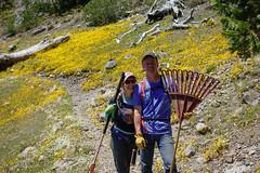 spring clean #2 (5 of 12) (singlespeeder) Tags: fta forestcity lanig mattp raking springclean yellowflowers