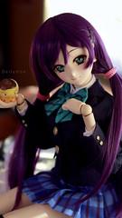 New Nozomi Tojo (Dollymoe) Tags: dollfiedream doll bjd dollfie anime nozomitojo nozomi lovelive love live idol school cute girl moe purple