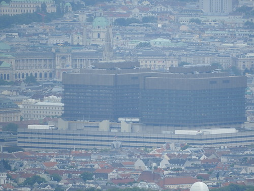 AKH (Vienna's main hospital) from Habsburgwarte