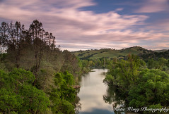 Del Valle Regional Park (katiewong511) Tags: delvalleregionalpark livermore sunrise reflection green rolling hill lake fishing trail spring long exposure trees