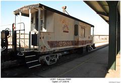 UCRY Caboose 25880 (Robert W. Thomson) Tags: ucry utahcentral caboose cab cabcar cabincar traincar railcar rollingstock train trains railroad railway ogden utah