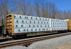TTZX 864434 (Proto-photos) Tags: ttzx ttx 864434 lumber loaded centerbeamflatcar railcar train railroad rollingstock freightcar connellsville pennsylvania interfor products fbc f483