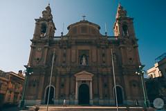 Msida Parish Church (jdelrivero) Tags: paises iglesia fachada arquitectura church malta countries architecture facade taxbiex mt