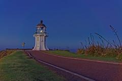 Latarnia morska Cape Reinga | Cape Reinga nocą Lighthouse at night