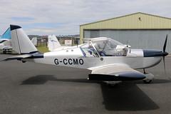 G-CCMO (GH@BHD) Tags: gccmo evektor evektoraerotechnik ev97 eurostar ulsterflyingclub newtownardsairfield newtownards aircraft aviation microlight