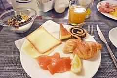 Petit-déjeuner au Boscolo Hotel Autograph Collection