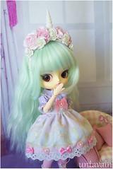 Unicorn Princess (untavain) Tags: daldoll dall cute doll kawaii unicorn pastrl pastel pullips nukke