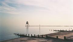 If Turner Shot APS Film (99pcameraclub) Tags: dovercourt harwich seafront leading lighthouse sea sky beach canon ixus aps film kodak advantix