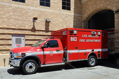 LAFD Ambulance 882 (adelaidefire) Tags: lafd los angeles city fire department ambulance dodge