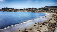 Playa de Repic (candi...) Tags: playaderepic playa agua montaña naturaleza nature olas arena piedras cielo nubes airelibre sonya77 paisaje