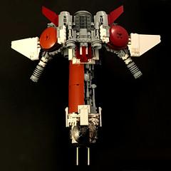 Black Sun Starfighter top (goatman461) Tags: blacksun lego starfighter minifigscale