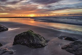 Sonnenaufgang am Strand / Sunrise on the beach