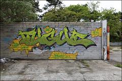 Fugue (Alex Ellison) Tags: bournemouth england uk urban graffiti graff boobs derelict fugue