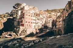 Postcard (DanAie) Tags: seppia vintage postcard cinqueterre old golden gold cinque terre liguria italia italy landscape travelphotography travel world pentax