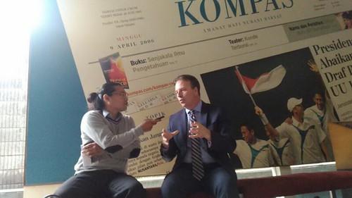 Interview by Jakarta Post