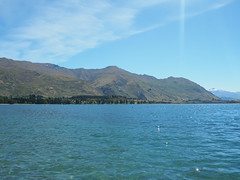 Lake Wanaka, New Zealand (Kalpesh Patel.) Tags: lakewanaka wanaka newzealand southisland beautiful serence picturesque mountain lake forest hill sky cloud snowcapped tree town lively crystalclear sun happytown healthytown activity bustling