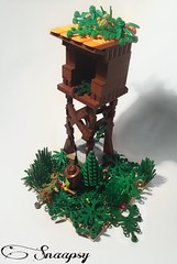 Tower in Forest (Snaapsy) Tags: lego tower snaapsy moc forest afol