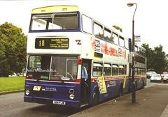 3119 (YW) G119 FJW (WMT2944) Tags: 3119 g119 fjw mcw metrobus mk2a wmpte west midlands travel