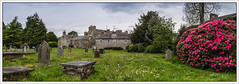 In a Country Graveyard (Kev Walker ¦ From Manchester) Tags: architecture beautiful britishculture building canon1100d canon1855mm colorfull england hdr kirkbylonsdale lancashire northwest panorama panoramic traditional grave church