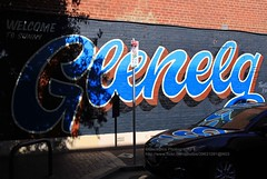 Adelaide, Glenelg, graffiti (blauepics) Tags: australia australien south südaustralien adelaide glenelg city stadt colourful farbige decoration graffiti