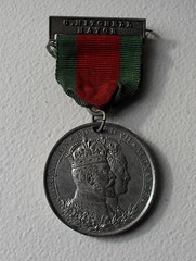 CORONATION 1902 (old school paul) Tags: coronation medal medallion commemorative edwardvii 1902 windsor