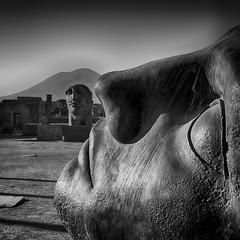 The very Last Time (Italy, Ancient Pompeii Ruins)   #pompei #pompeiiruins #pompeii #archeology #rome #ancient #ruins #blackandwhite #blackandwhitephotography #monochrome #italy (antgallinaro) Tags: blackandwhite monochrome blackandwhitephotography italy pompei rome pompeii pompeiiruins ruins ancient archeology