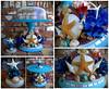 Seashell Cake Plate with Cake Topper (AgnesOlson) Tags: seashells seashell ocean beach shells cake cakeplate caketopper starfish