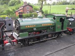 IMG_5179 - GWR Hudswell Clarke Saddle Tank 813 (SVREnthusiast) Tags: severnvalleyrailway svr severnvalley severn valley railway gwrhudswellclarkesaddletank813 gwr hudswellclarke saddletank 813