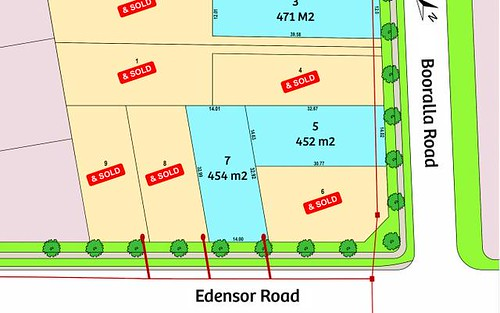 Lot 3, 5 & 7/1 Booralla Road, Edensor Park NSW